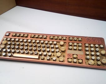 Steampunk Keyboard, The Copperbot