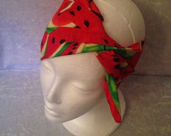 Handmade Watermelon Headband