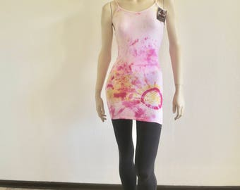 Hippie dress size S hand dyed super cute and sexy