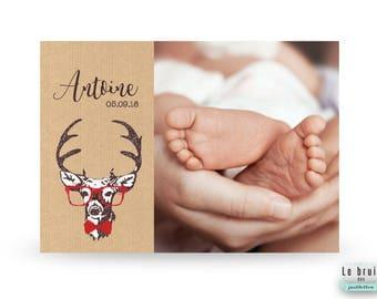 Bien-aimé Faire part de naissance | Etsy DU52