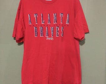 Vtg atlanta braves starter shirt 1997