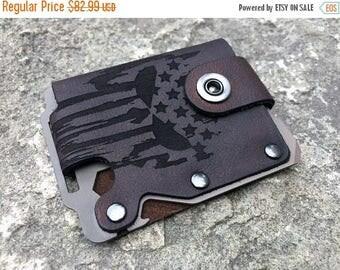 Summer Sale Special Edition-Kodiak Hero men's wallet (Custom Bearskin-Dark Earth metal)-Free Shipping