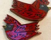 Cardinals Handmade Cerami...