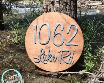 "18"" Address Sign 
