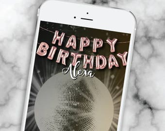 Birthday snap chat filter * 21st Birthday Geofilter 60th Happy Birthday Snapchat Filter 30th birthday snapchat Gold Balloon Geofilter
