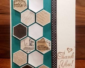 Thank You | Greeting Card | Individual Card
