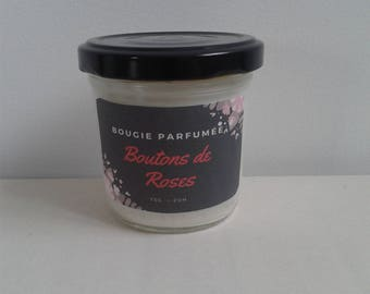 Mini scented rose buttons