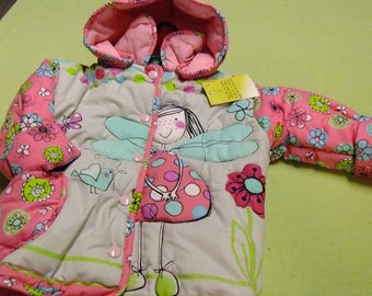 "Jacket quilted child ""Fairy"""