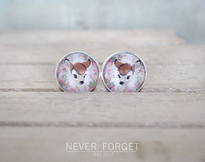 """Featured listing image: Earrings """"Bambi"""" - 16 mm / pair"""
