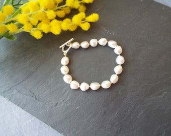 Baroque Pearl Knotted Bracelet
