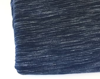 Knit Fabric, Jersey Knit Fabric, Fabric by the Yard, Stretch Fabric, Jersey Fabric -  Heather Blue