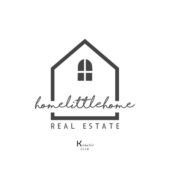 Home Logo Design. House Logo. Real Estate Logo. Home Decor