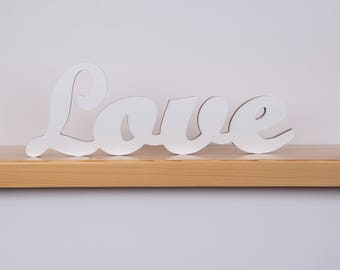 Love sign, love letters, wooden letters, wedding sign love, wooden words, home decor signs, wedding decorations, home decor wood signs