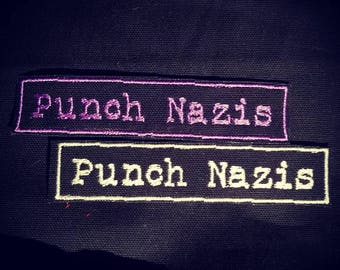 Punch Nazis Patch