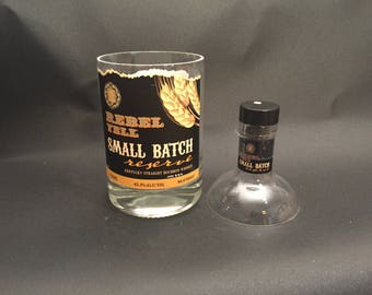 Rebel Yell Candle Small Batch Bourbon Whiskey BOTTLE Soy Candle Made To Order !!!!!