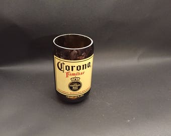 HANDCRAFTED Candle Up-Cycled 32oz CORONA  Familiar Beer Bottle  Candle. Made To Order !!!!!