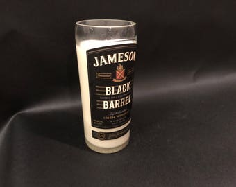 1 Liter vs 750ML Jameson Candle Irish Whiskey Black Barrel Reserve Bottle Soy Candle. Made To Order !!!!!!!