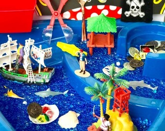 Pirate Sensory Bin Kit