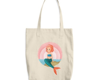 Mermaid Tote Bag - Recyclable Bag - Go Green