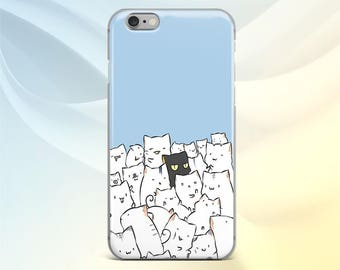 iPhone 7 Cat cover iPhone 6S case Animals Google Pixel XL case iPod Touch 6 Kitten Samsung S8 Plus Pattern LG G6 case Samsung A7 Silicone