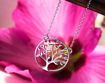 Tree of life necklace Sterling Silver 925 tree of life necklace