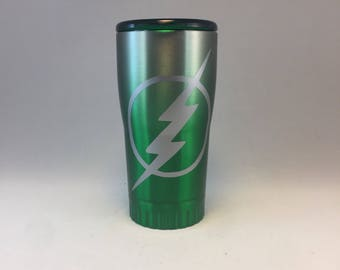 Lightening Bolt Tumbler