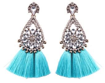 Tassel Dangle Earrings Bohemian