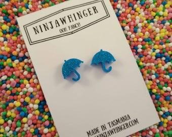 RAINY DAYS acrylic shape stud earrings