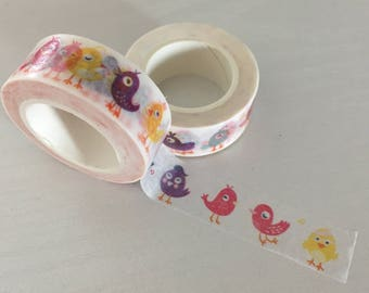 Bird washi tape