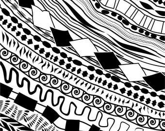 Silk screen  stencil No. 15