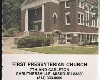 First Presbyterian Church 7th and Carleton Caruthersville Missouri Church Family Album 1982