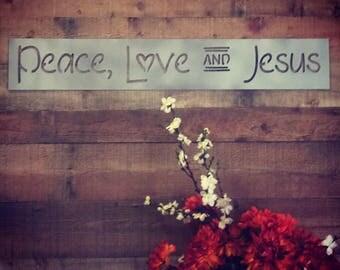 Peace, Love AND Jesus