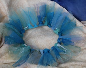 "Sparkly Under the Sea 16"" Doll Tutu"