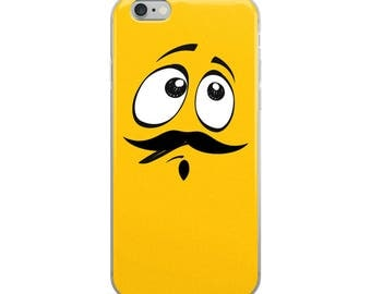 Funny Confused Emoji iPhone Case - Iphone 7 case - Iphone 8 case - Iphone 7 plus case - Iphone 6 case - Iphone X case