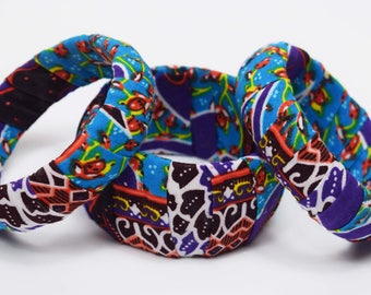 African print fabric covered bangles wooden sets matching bangles unique bangles Ankara Patterned African fashion Wedding Dovetailed London