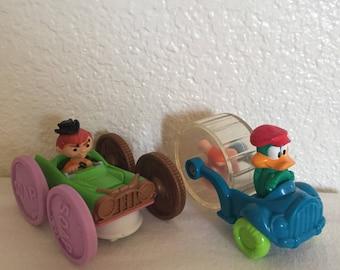 1990, and 1992 Tiny Toon Adventrues Happy Meal Toys