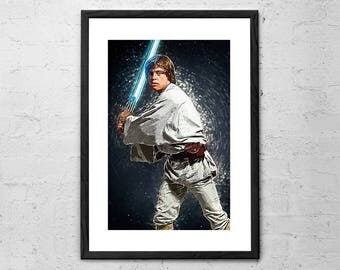 Luke Skywalker - Star Wars - Illustration -
