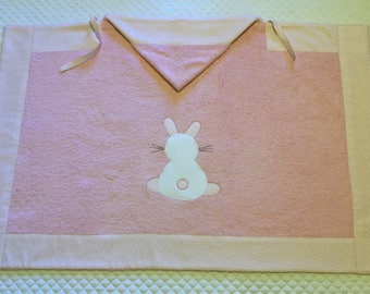 Custom drapes with Bunny in application