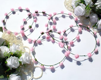 Bridesmaid wreaths, Bachelorette party wreaths, Bridesmaid hair, Bachelorette gifts, Bridal party wreaths, Bridesmaid tiaras, Bride gift