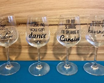 Wine Decal Sets