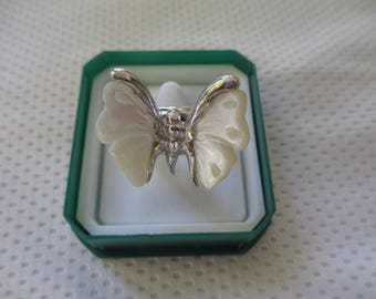 anello farfalla argento 925 - sterling silver 925 ring (butterfly)