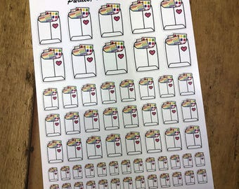 Happy Mail. Planner Stickers, Erin Condren, Recollections, Happy Planner, Cute Stickers, ECLP, Fun.