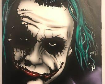 Heath Joker purple