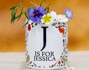 Personalised Woodland Mug