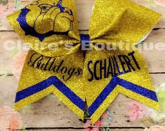 Schallert cheer bow (Yellow)