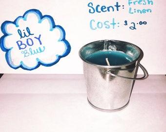 Lil Boy Blue Candle