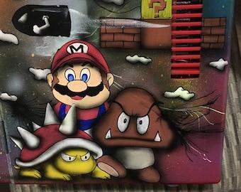 Mario bros travel fridge/warmer
