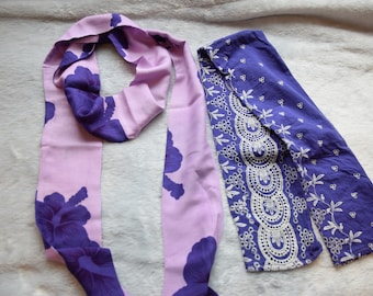 Purple Scarf Set for Girls Christmas Value Pack Gift Set Size 5-10 years