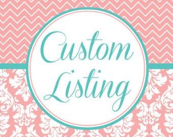 Custom Doormat listing