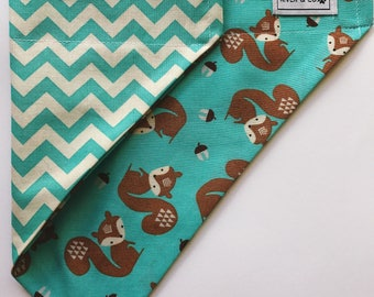 Squirrel | Reversible Dog Bandana